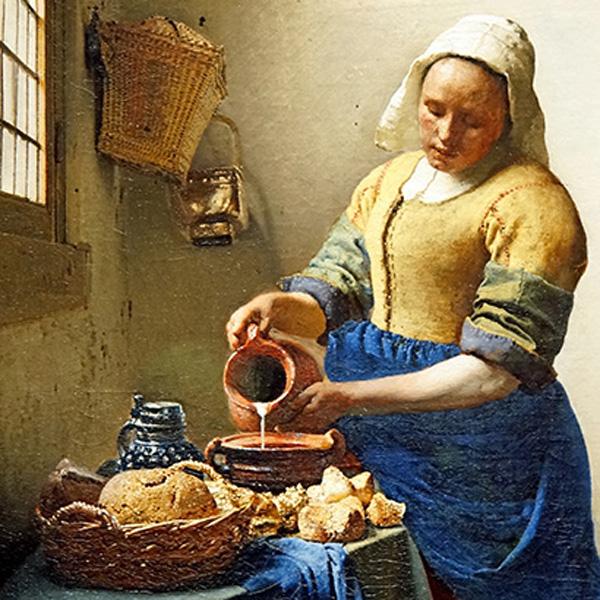 Vermeer-melkmeisje